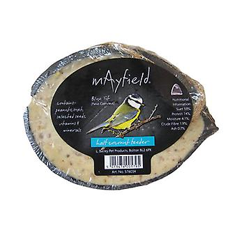 Mayfield kokos halv Feeder Single (pakke med 10)