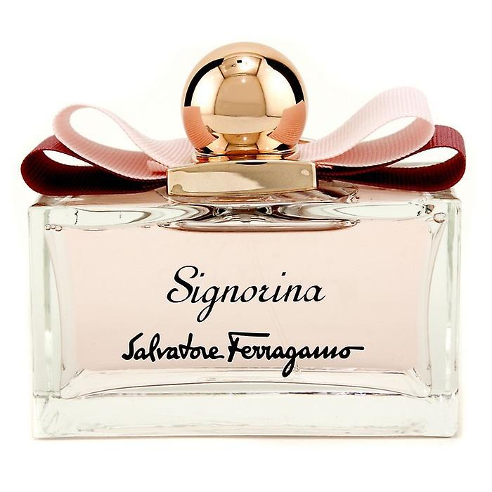 Salvatore Ferragamo Signorina Eau De Toilette Spray 100ml / 3.4 oz