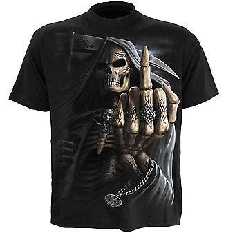 Spirale Knochen Finger T-Shirt
