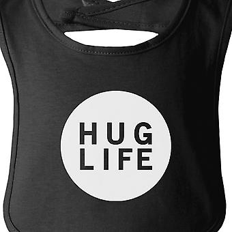 Hug Life Black Baby Bib Infant Bibs Gifts Ideas For Baby Shower