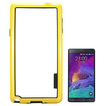 Pare-chocs hybride jaune pour contact Samsung Galaxy 4 N910F N910