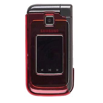 Two piece Snap-On Case for Samsung SCH-U750 (Red)