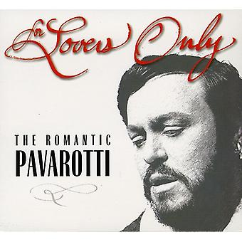 Luciano Pavarotti - For Lovers Only: The Romantic Pavarotti (Includes Bonus CD) [CD] USA import
