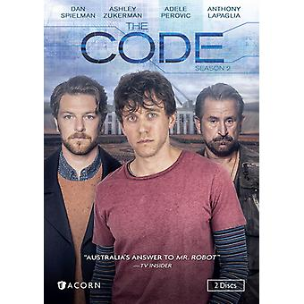 Code: Season 2 [DVD] USA import
