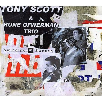 Tony Scott - svingende i Sverige [CD] USA import