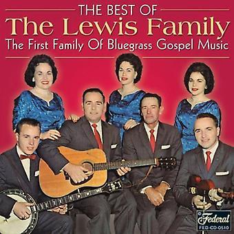 Lewis familie - bedste af det bedste [CD] USA import
