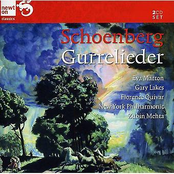 Arnold Schönberg - Schönberg: Gurrelieder [CD] USA import