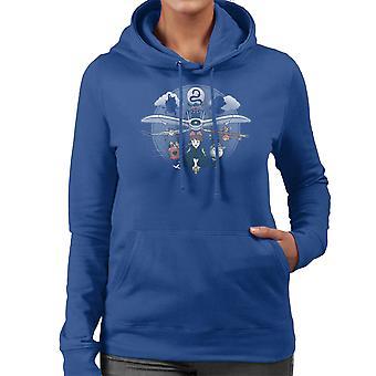Flight Of The Imagination Studio Ghibli Women's Hooded Sweatshirt