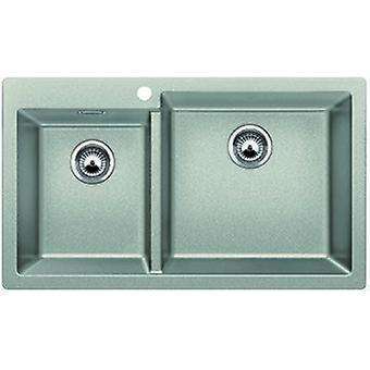 Blanco Pleon sink 9 pearl gray Silgranit