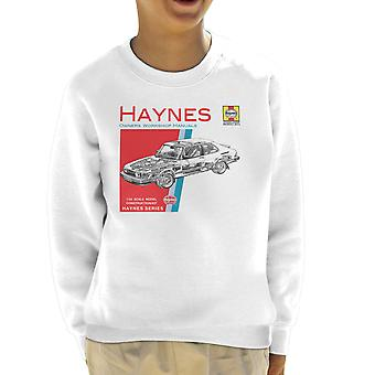 Haynes Owners Workshop Manual 0765 Saab 900 Turbo Kid's Sweatshirt