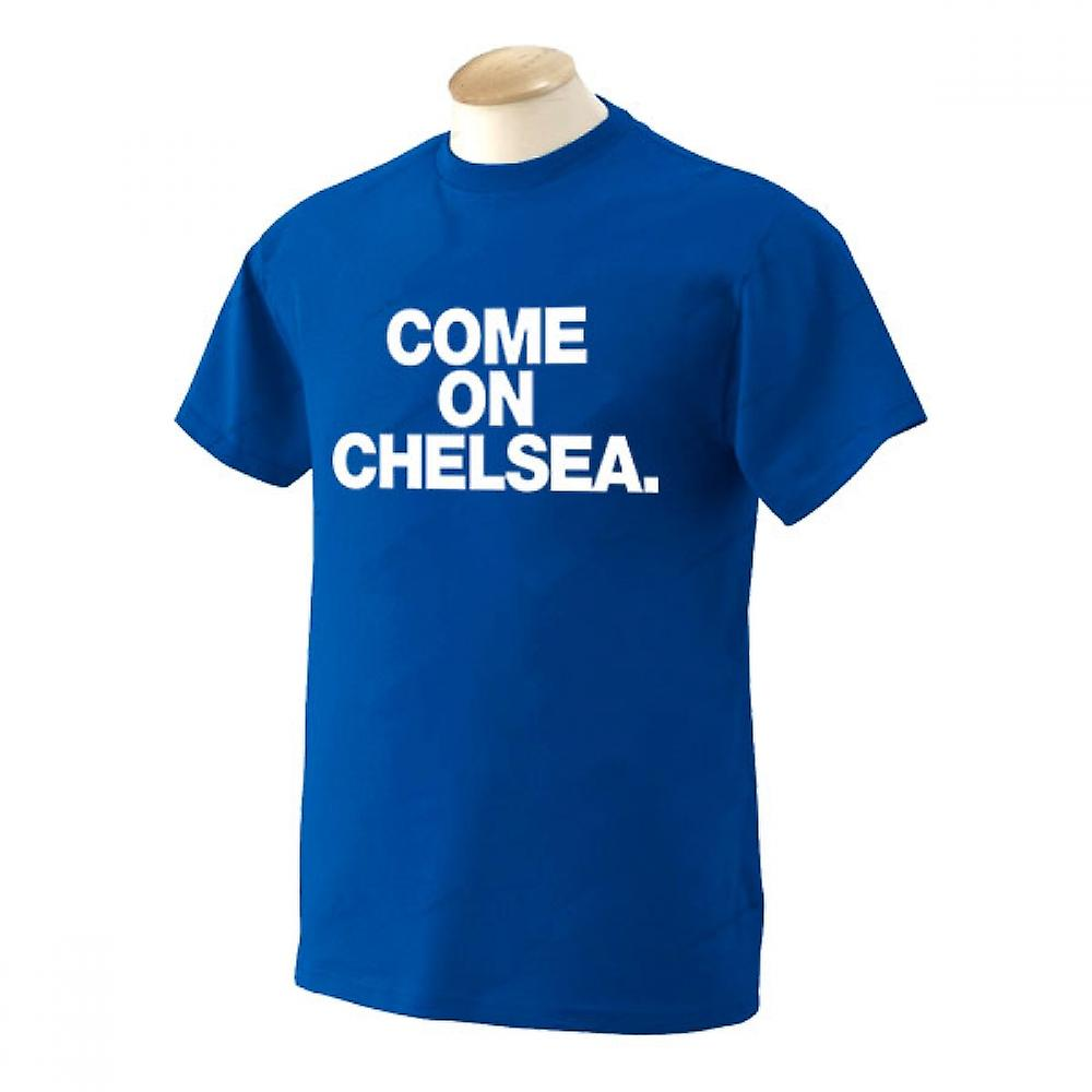 Come on Chelsea T-Shirt (Blue)