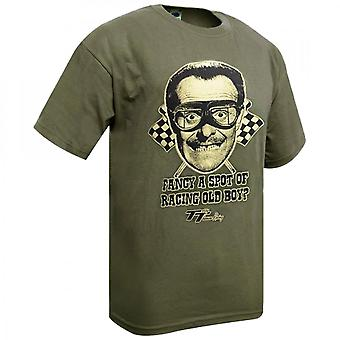 Dare Devil Terry Thomas T-shirt ('Fancy A Spot Of Racing Old Boy)