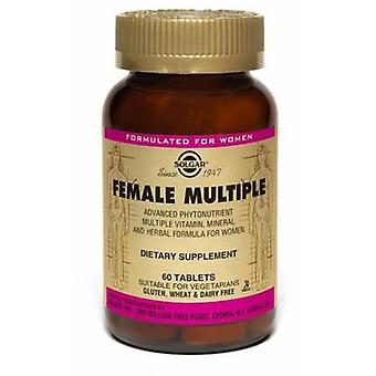 Solgar Female Multiple 120Tabl. (Hygiene and health , Sexual health , Suplements)