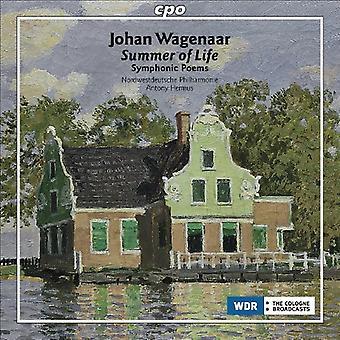 J. Wagenaar - Johan Wagenaar: Summer of Life [CD] USA import