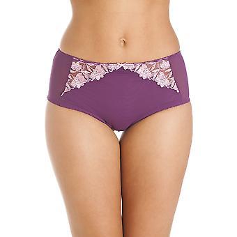 Camille Floral Print Purple Boxer Shorts