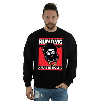 Run DMC mænds Santa jul Sweatshirt