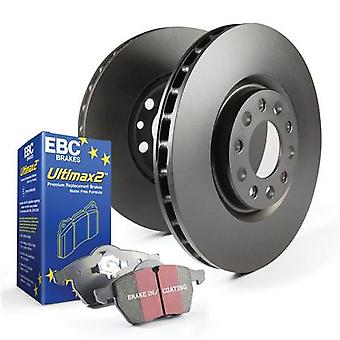 EBC Brake Kit - S1 Ultimax2 and RK rotors S1KF1049 Fits:FORD  2006 - 2012 FUSIO