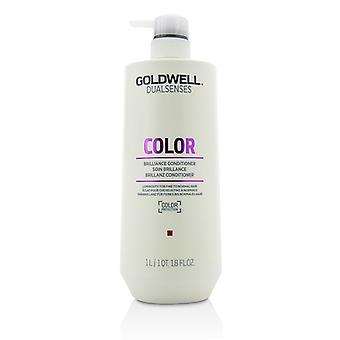 Goldwell Dual Senses Color Brilliance Conditioner (Luminosity For Fine to Normal Hair) 1000ml/33.8oz