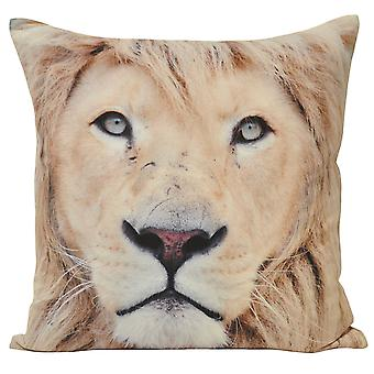 Riva Home Animal Lion Cushion Cover