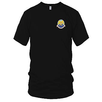 USAF Airforce - 7th Air Commando Squadron Embroidered Patch - Mens T Shirt