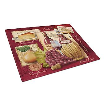 Carolines Treasures  PTW2046LCB Wine and Cheese Glass Cutting Board Large