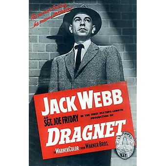 Dragnet Movie Poster (11 x 17)