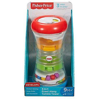Fisher-Price Torre Rotola e Gattona 3 in 1