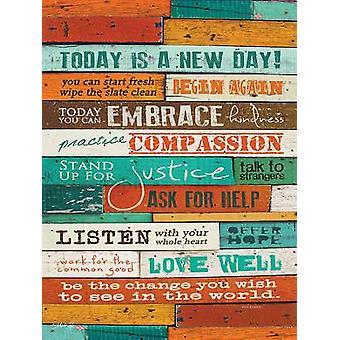 En ny dag affisch skriva ut av Marla Rae (18 x 24)