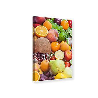 Leinwand drucken frische Früchte