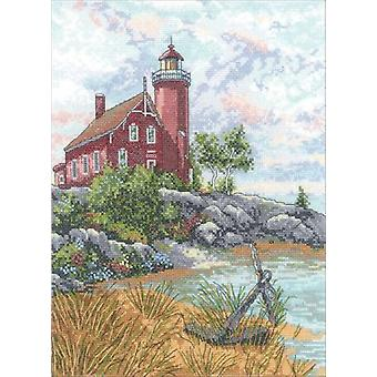 Eagle Harbor Light Counted Cross Stitch Kit-9