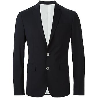 Dsquared2 men's S74FT0219S40320900 Black wool suit