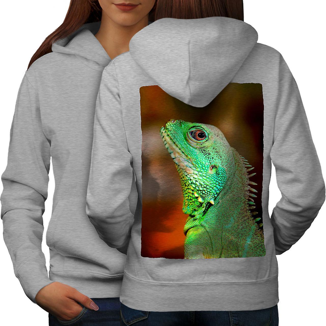 Chameleon Photo femmes grisHoodie dos