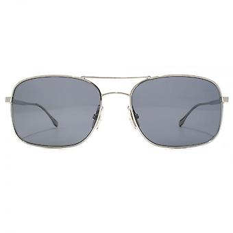 Hugo Boss stilvolle Metall Square In Ruthenium-schwarz
