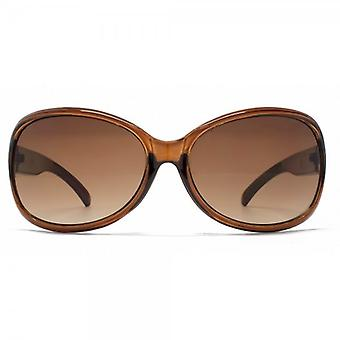 French Connection Butterfly Sunglasses In Crystal Peach