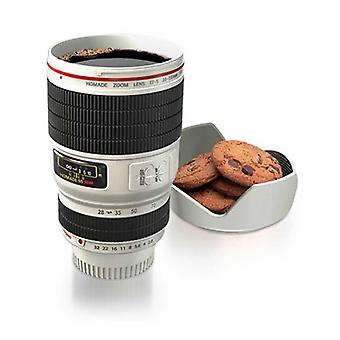 Camera Lens Cup (wit)