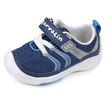 Garvalin Boys Wide Fit  Blue Trainers | Garvalin 162335