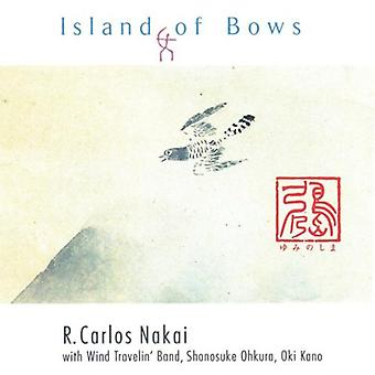 R. Carlos Nakai - øen af buer [CD] USA import
