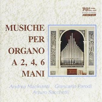 Bossi/Cima/Haydn - Musiche Per Organo a 2/4/6 Mani/Suonata Per Organo [CD] USA import