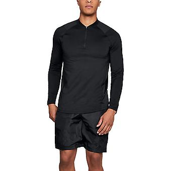 Under Armour Mens Mk1 1/4 Zip Heatgear Comfy Long Sleeve Running Top