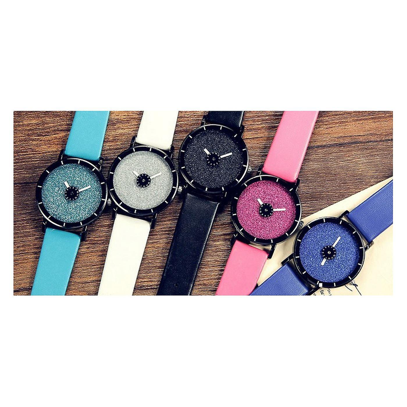 Smart Sparkle Glitter Watch Blue Shiny