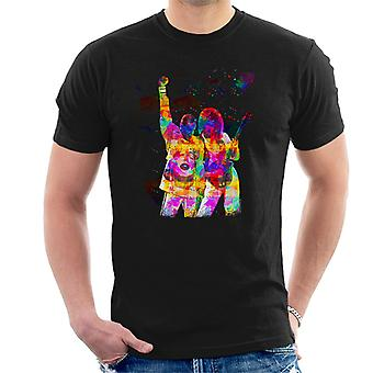 Brian May And Freddie Mercury 1989 Men's T-Shirt