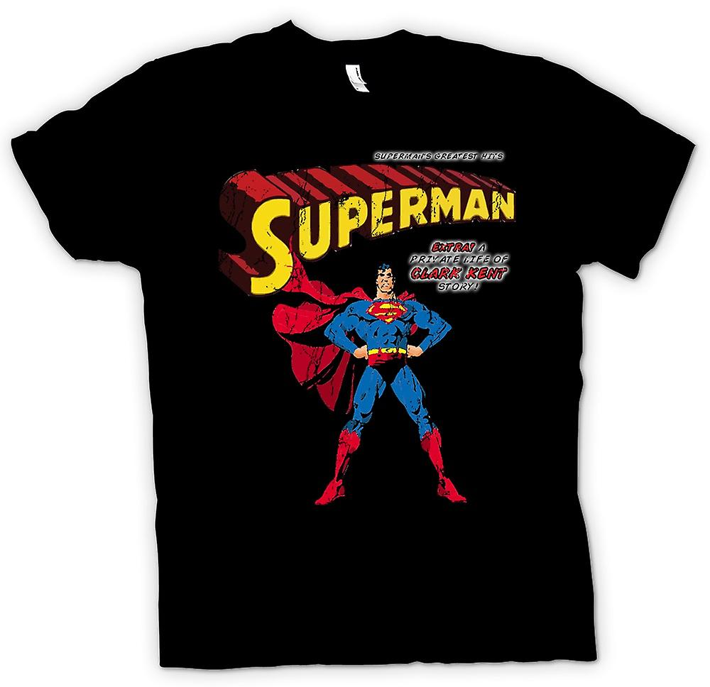 Mens T-shirt - Superman - Comic Super Hero