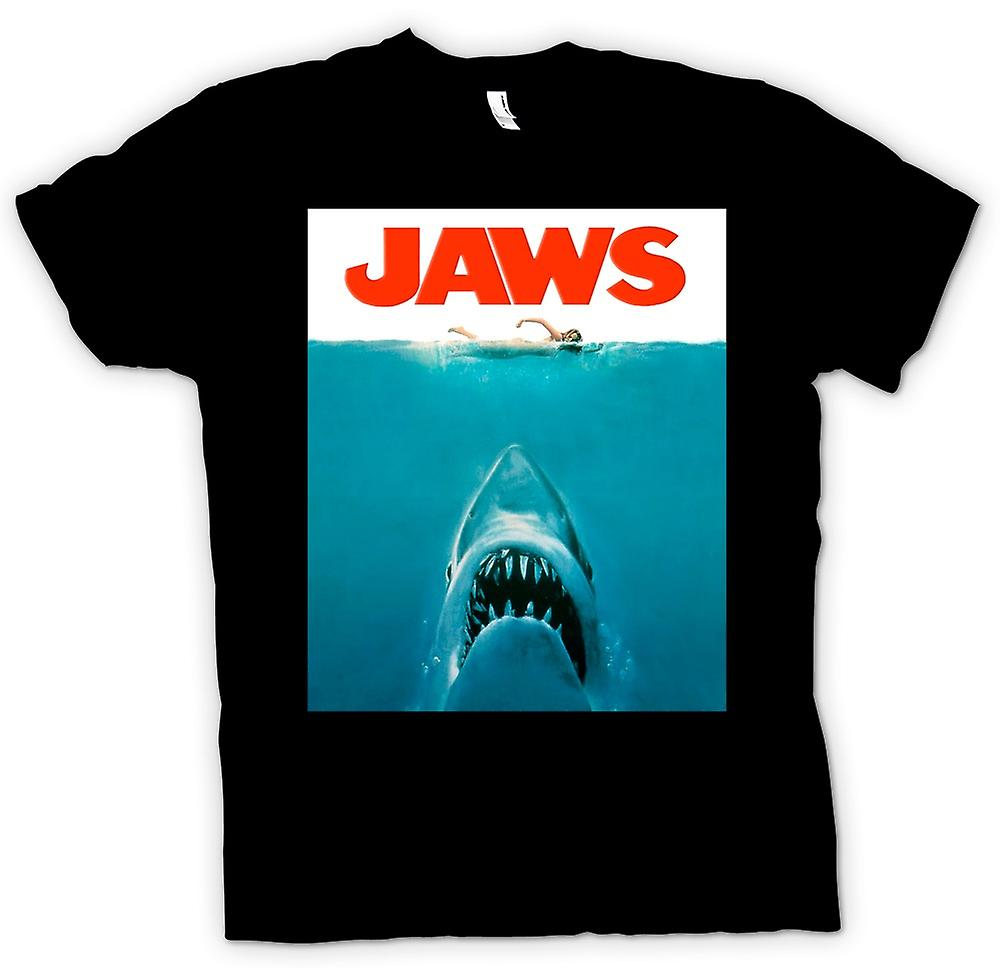 Kids T-shirt-Jaws Shark