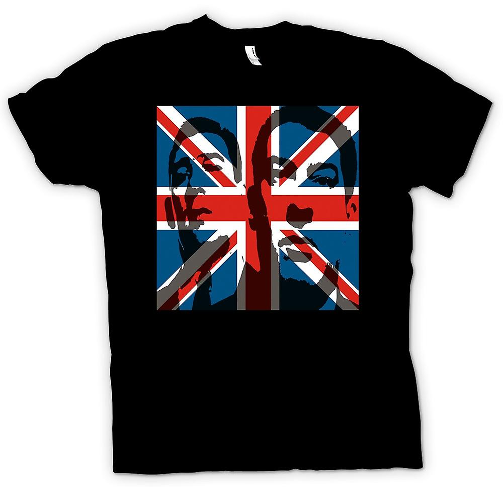 Womens T-shirt - de Krays Union Jack - Gangster