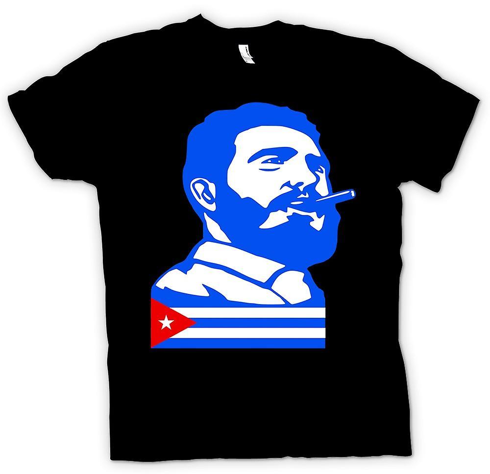 Mens T-shirt - Fidel Castro - Cuba
