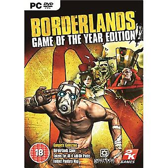 Borderlands Game of the Year Edition (PC DVD)