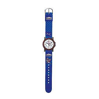 Scout bambino guarda azione ItBoys apprendimento orologio blu Jungennuhr 280375010