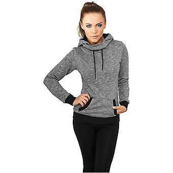 Urban classics ladies Hoodie high neck