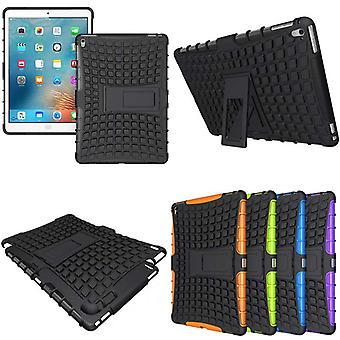 Hybrid utendørs beskyttelsesdeksel tilfellet svart for iPad Pro 9,7 tommers saken