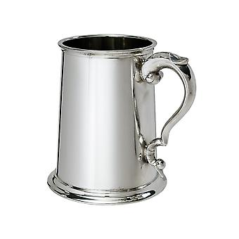 Plain Pewter Tankard - 1 pint